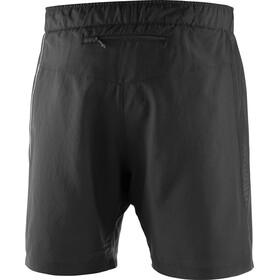 Salomon Agile 2in1 Hardloop Shorts Heren zwart